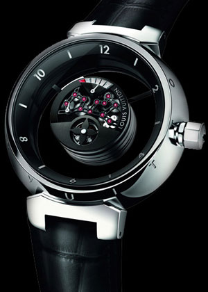 часы LOUIS VUITTON Tambour Mysterieuse
