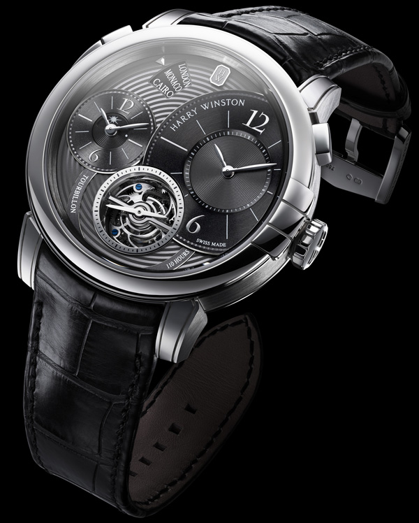 Harry Winston Midnight GMT Tourbillon
