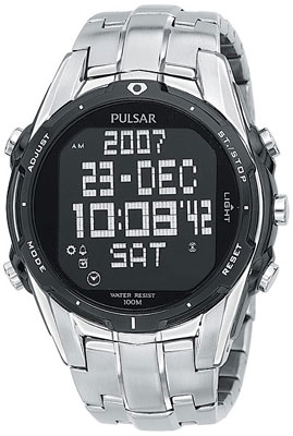 Pulsar LCD watches