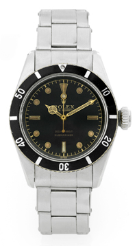 "часы Rolex Submariner Ref. 6538 ""James Bond"""