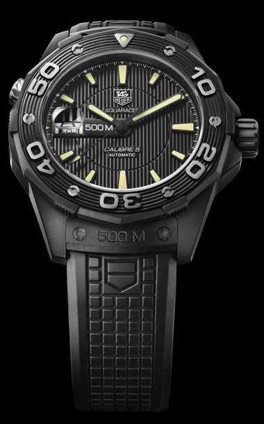 часы Aquaracer 500M Full Black