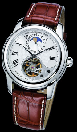 часы Heart Beat Manufacture Moonphase