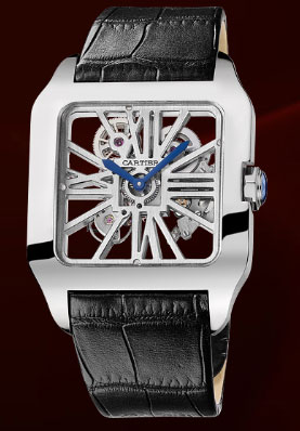 ���� Santos De Cartier Skeleton