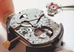 процесс сборки механизма часов Chopard