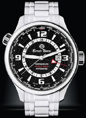 Часы «CHRONOFLITE WORLDTIMER» (ref. GC 10851)