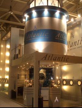 часы Atlantik на выставке