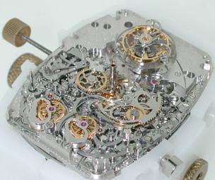 механизм часов Franck Muller