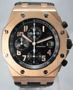 часы Royal Oak Offshore Jay-Z 10th Anniversary Limited Edition