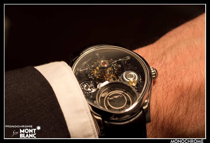 Швейцарские часы Montblanc Collection Villeret 1858 Tourbillon Bi-Cylindrique