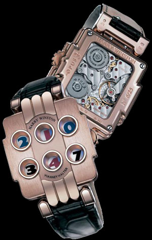 часы Harry Winston Opus 3
