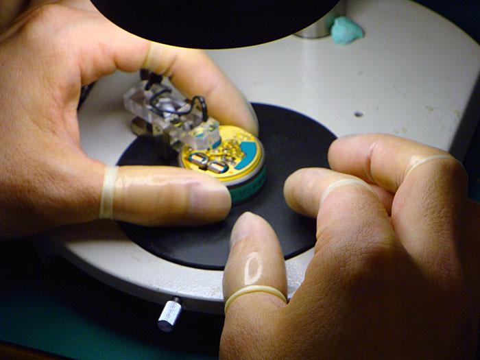 процесс изготовления часов Bulova