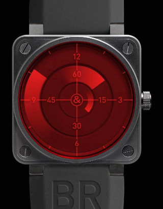 часы BR 01 Red Radar Limited Edition