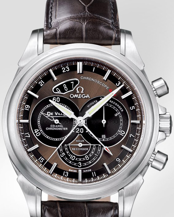 часы Omega De Ville Co-Axial Chronoscope