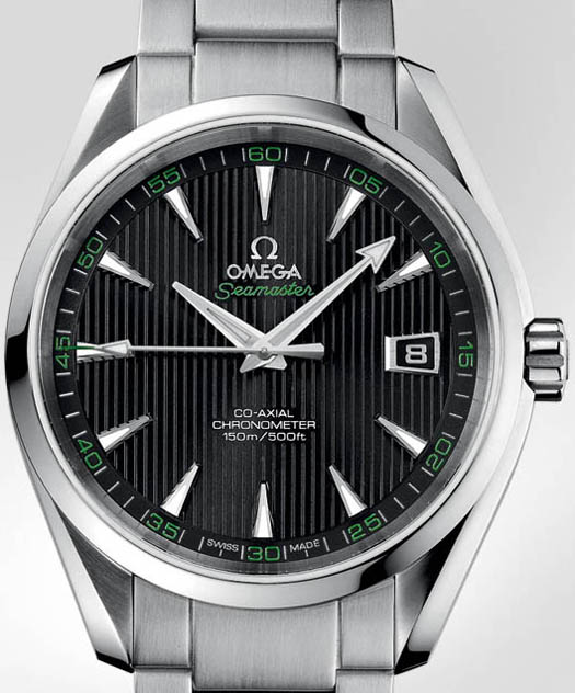 часы Seamaster Aqua Terra Co-Axial Golf Green