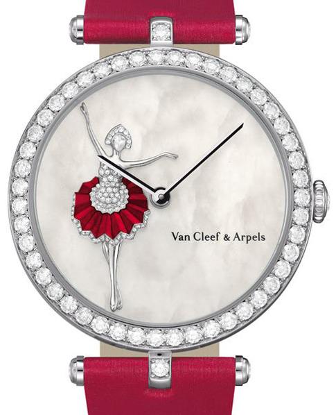 часы Lady Arpels Ballerina Decor Watch