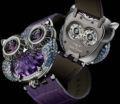 часы MB&F & Boucheron Team Up For The JwlryMachine