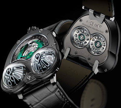 часы MB&F Horological Machine N°3 Black Frog
