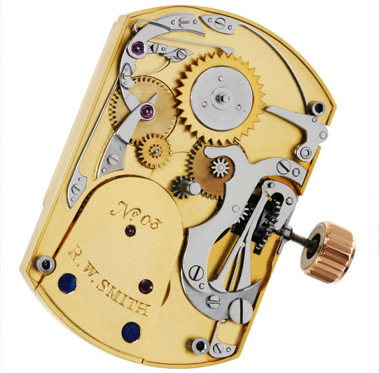механизм No. 3 Tourbillon