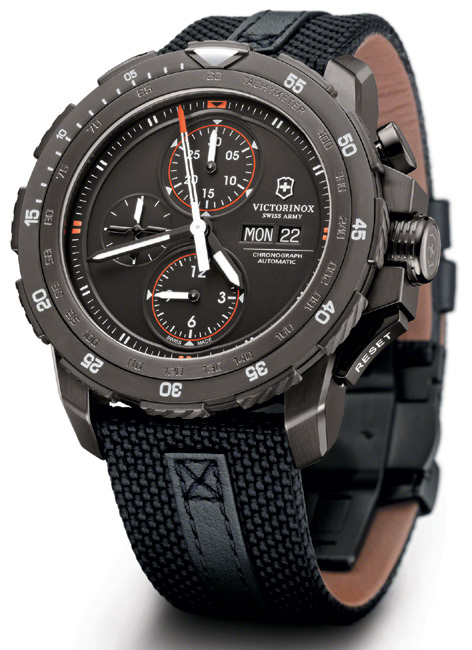 часы Alpnach Black Ice Chronograph от Victorinox Swiss Army