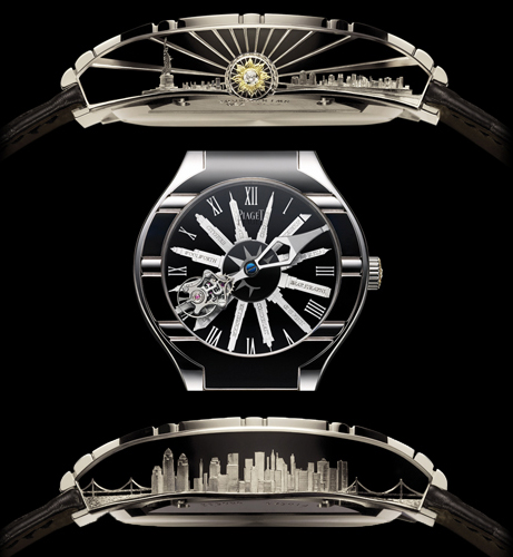 часы Tourbillon Relatif New York от компании Piaget