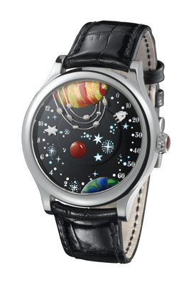 Часы From the Earth to the Moon Poetic Complication