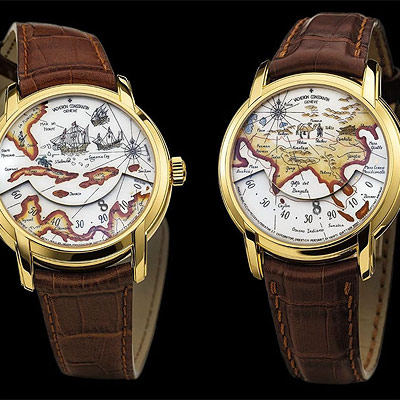 часы Metiers d'Art Tribute to Great Explorers Christopher Columbus and Marco Polo