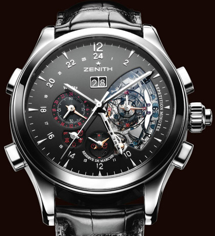 часы Zenith Grande Class Traveller Repetition Minutes