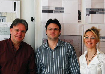 Roger Waeber, Laurent Waeber и Natacha Corazzin