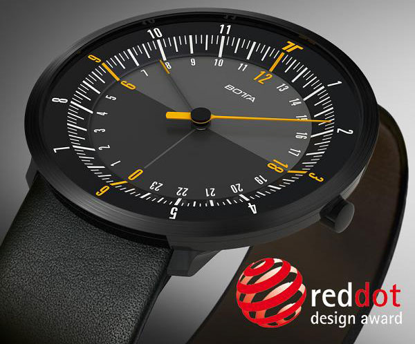 часы DUO 24 от Botta-Design стали обладателем награды RED DOT DESIGN AWARD