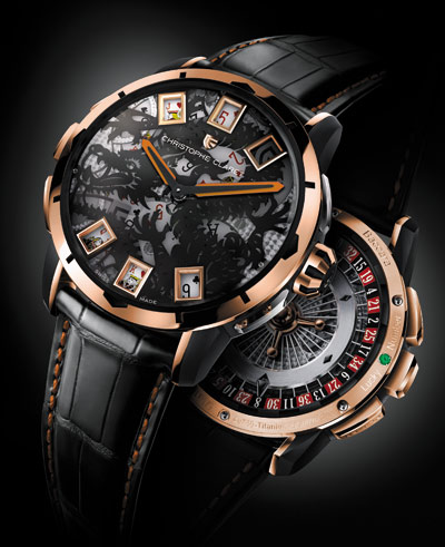 часы Baccara Dragon Rose gold