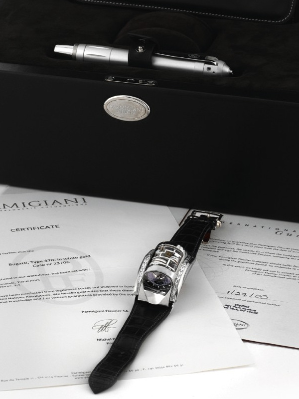���������� ���� Parmigiani Bugatti Piece Unique