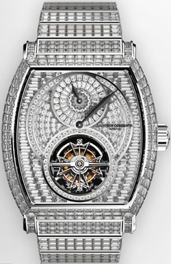 часы Malte Regulator Tourbillon High Jewellery invisible-setting