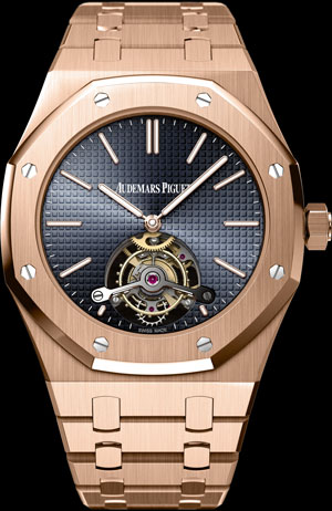 часы Audemars Piguet Extra-Thin Royal Oak Tourbillon (ref. 26510OR.OO.1220OR.01)