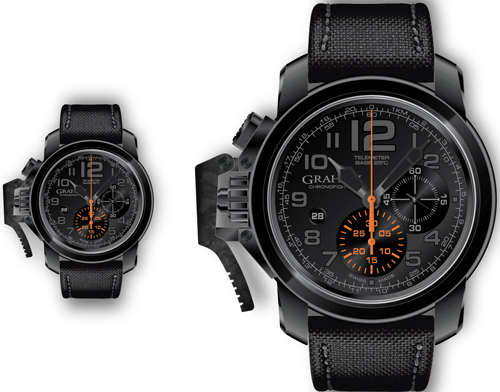 часы Chronofighter Oversize Black Sahara (Ref. 2CCAU.B01A-Chronofighter Oversize Black Forest)