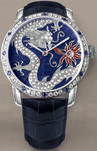 часы Gebson Sky & Earth Ciel Royal Dragon (Ref. CT.S01.DC 22)