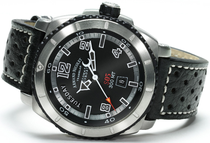 Спортивные часы Armand Nicolet S05 на BaselWorld 2012