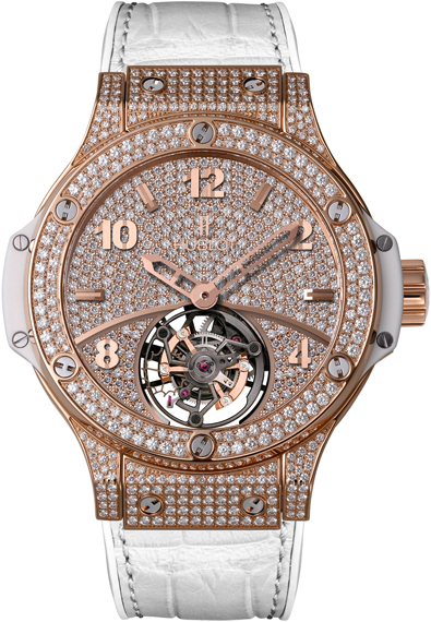 ������� ���� Big Bang Tutti Frutti Tourbillon Ref. 345.PE.9010.LR.1704
