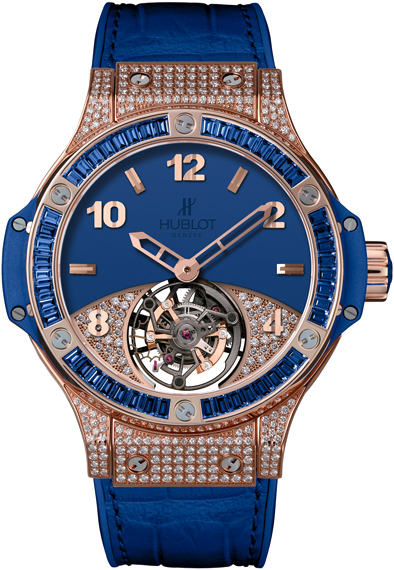 ������� ���� Big Bang Tutti Frutti Tourbillon Ref. 345.PL.5190.LR.0901
