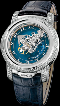часы Ulysse Nardin Freak 28'800 V/h Diamond Heart
