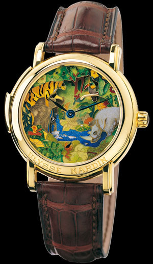часы Jungle Minute Repeater (ref. 721-22)