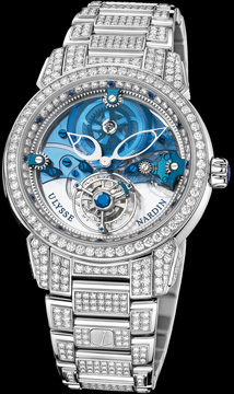 часы Ulysse Nardin Royal Blue Tourbillon (REF.799-83-8F)