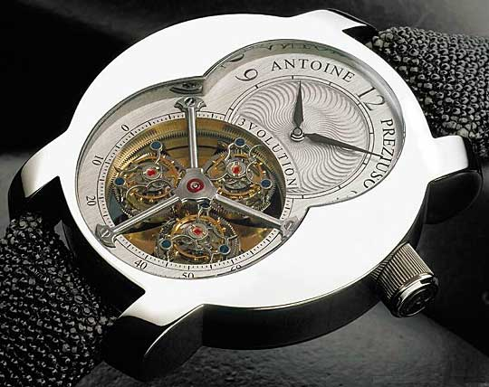 часы 3 Volution Triple Tourbillon