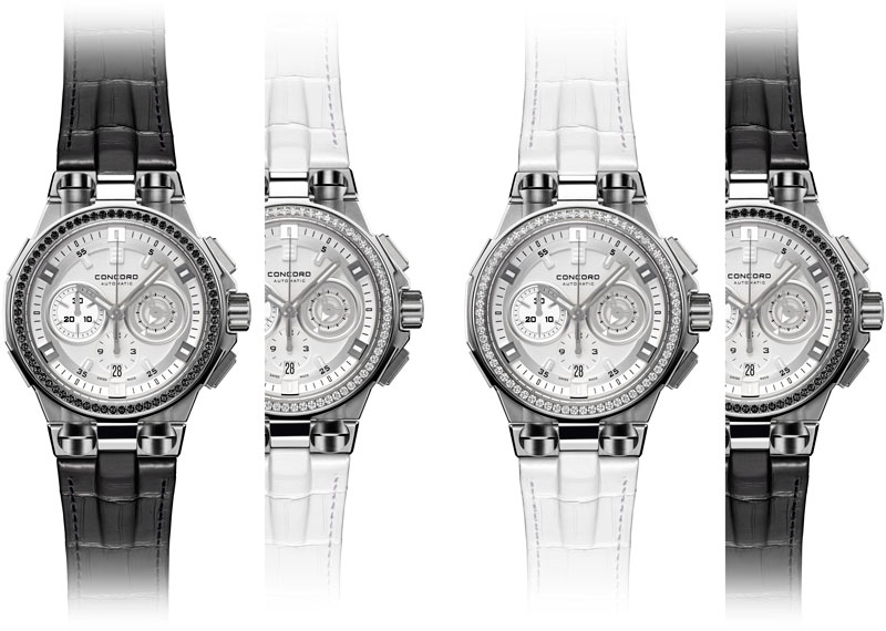 часы C2 Chronograph Black & White