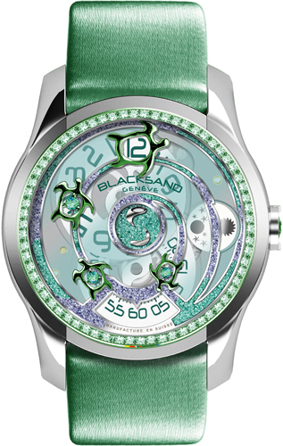 часы Continuity Sea Turtle Green