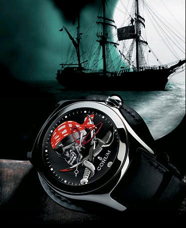 часы Corum Bubble Privateer