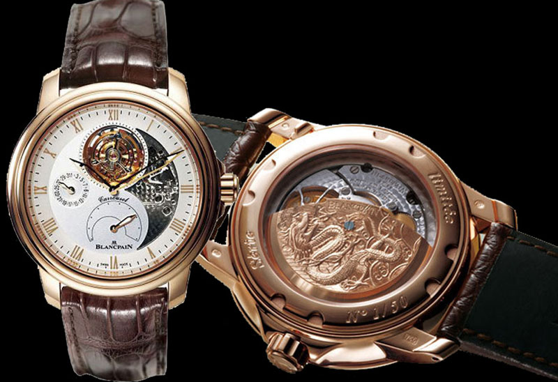 "часы Blancpain Caruso ""Chinese Dragon"" Limited Edition"