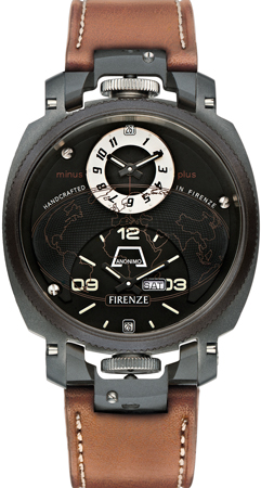 часы Anonimo Firenze Dual Time Drass