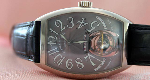 часы Tourbillon Revolution 2 (ref. 7850 T REV 2)
