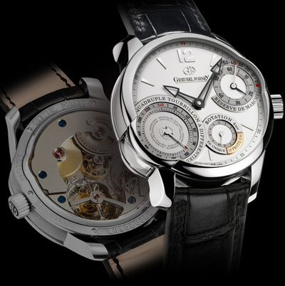 часы Greubel Forsey Quadruple Tourbillon Secret