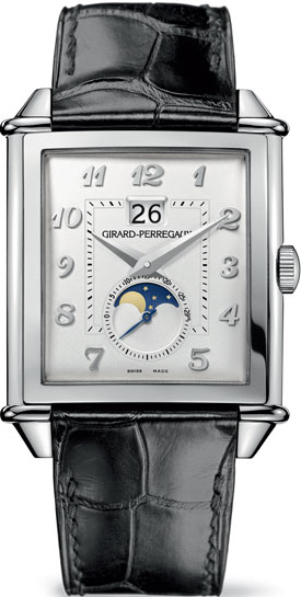 часы Vintage 1945 Large Date Moon-Phases (Ref: 25882-11-121-BB6B)